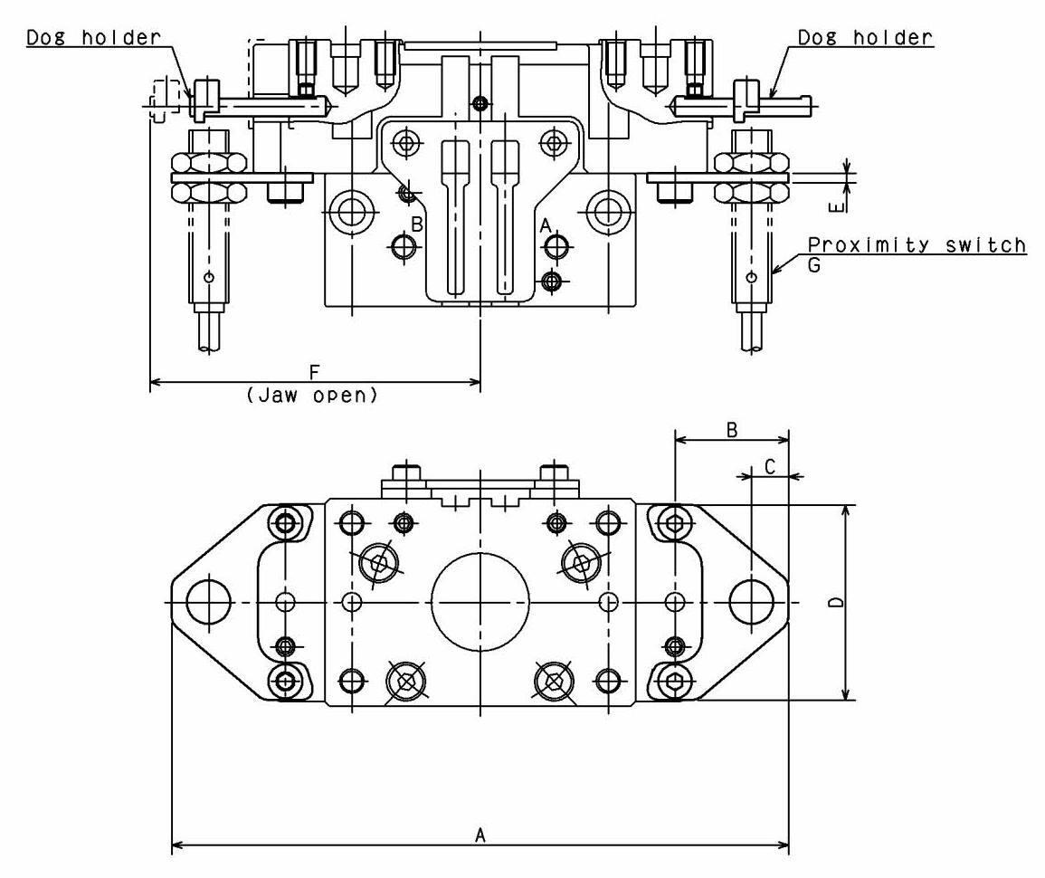 Proximity Switch Bracket for NTS2